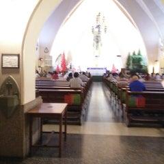 Photo taken at Gereja Katolik Katedral Santa Perawan Maria Dari Gunung Karmel by Irene H. on 12/22/2014