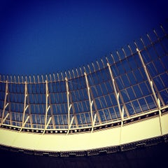 Photo taken at Cape Town Stadium by Mike E. on 2/5/2013