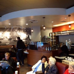 Photo taken at Starbucks by Andrea L. on 2/6/2014