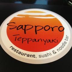 Photo taken at Sapporo Teppanyaki by Angela R. on 5/18/2013