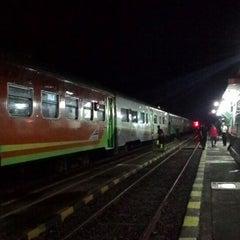 Photo taken at Stasiun Wlingi by Abie R. on 4/4/2015