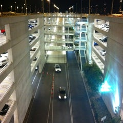 Photo taken at Mickey & Friends Parking Structure by Julian V. on 10/27/2012