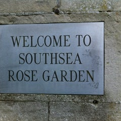 Photo taken at Southsea Rose Garden by marymaryw on 2/21/2012