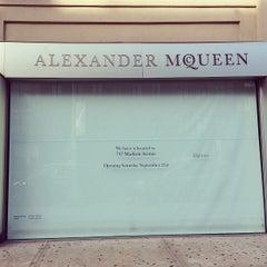 Photo taken at Alexander McQueen by Samuel M. on 9/21/2013