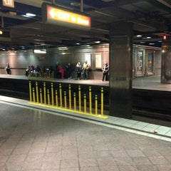 Photo taken at Port Authority Wood Street Station by Noah S. on 3/23/2013