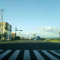 Photo taken at 花巻空港駅口交差点 by ねこ ね. on 9/19/2014
