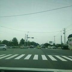 Photo taken at 花巻空港駅口交差点 by ねこ ね. on 9/23/2014