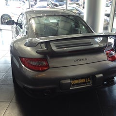 Photo taken at Porsche of Downtown LA by Arnoldo F. on 5/24/2014