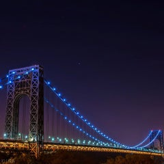 Photo taken at George Washington Bridge by Randy S. on 5/6/2013