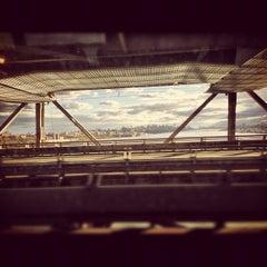 Photo taken at George Washington Bridge by Anthony R. on 11/4/2012