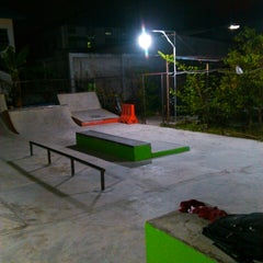 Photo taken at AB Skatepark by Fajar K. on 2/4/2014