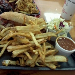 Photo taken at Bates City BBQ by Mike B. on 11/21/2012