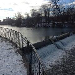 Photo taken at Lansing River Trail by Eric L. on 1/1/2013