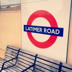 Photo taken at Latimer Road London Underground Station by Shane S. on 11/28/2012