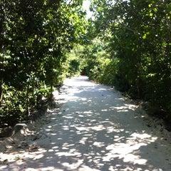 Photo taken at Parque Urbano Kabah by Erik H. on 11/4/2012