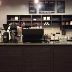 Photo taken at Origin Coffee & Tea by Aleks K. on 6/16/2015