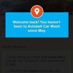 Photo taken at Autobell Car Wash by Corey W. on 10/18/2013