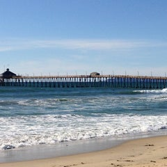 Photo taken at Imperial Beach Pier by Kathy T. on 3/6/2013