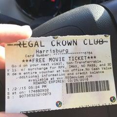 Photo taken at Regal Cinemas Harrisburg 14 by Sarah R. on 1/13/2016