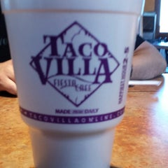 Photo taken at Taco Villa by Alex C. on 1/18/2014