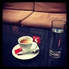 Photo taken at Gundulich cafe by Roland H. on 12/14/2012