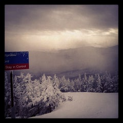 Photo taken at Stowe Mountain Resort by Kate B. on 12/25/2012