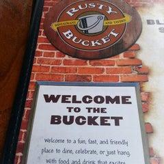 Photo taken at Rusty Bucket by Elizabeth W. on 6/29/2013