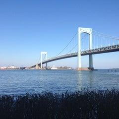 Photo taken at Throgs Neck Bridge by mr noodle™ on 11/17/2012