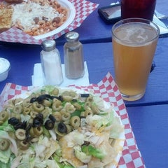 Photo taken at River Rock Cafe Inc by suzann b. on 6/24/2013
