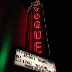 Photo taken at Vogue Theatre by Vikki L. on 12/13/2012