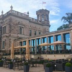 Photo taken at Schloss Albrechtsberg by Мария Б. on 5/6/2015