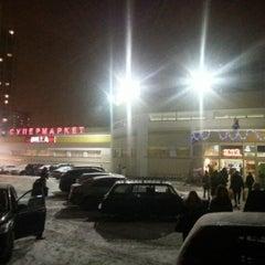 Photo taken at BILLA by Konstantin U. on 12/29/2012