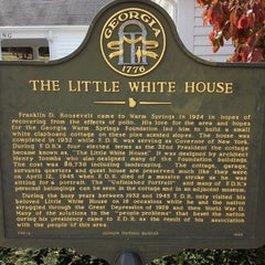 Photo taken at Roosevelt's Little White House Historic Site by Bryan B. on 11/6/2013