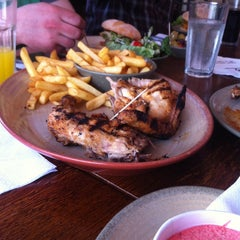 Photo taken at Nando's by Gabriel A. on 4/14/2013