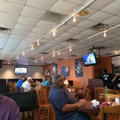 Photo taken at Po' Melvin's by Sheila B. on 4/30/2015