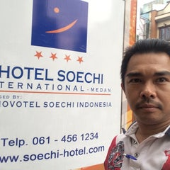 Photo taken at Hotel Soechi International by Mohd R. on 4/26/2015