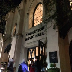 Photo taken at Charleston Music Hall by Mark H. on 12/12/2015