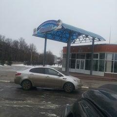 Photo taken at Ледовый Комплекс «Чемпион» by Ksenia K. on 1/2/2014