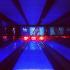 Photo taken at Strike Bowling Bar by Kevin P. on 9/29/2013