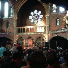 Photo taken at Union Chapel by Frank T. on 7/7/2013