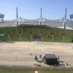 Photo taken at Olympiastadion by Kevin V. on 7/17/2013