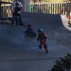 Photo taken at Skate Park by Cesar d. on 9/28/2014