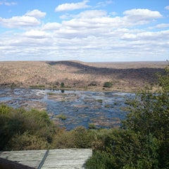 Photo taken at Olifants Rest Camp by Patrick T. on 7/12/2014