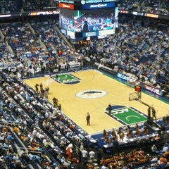 Photo taken at Greensboro Coliseum Complex by Max L. on 3/17/2013