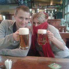 Photo taken at Budvar pub by Tamara Z. on 4/15/2014