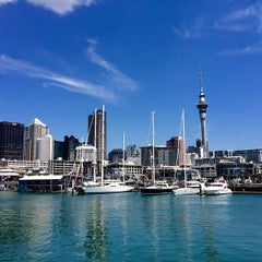 Photo taken at Wynyard Quarter by GNUdog/drivel on 1/24/2015