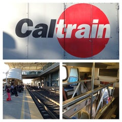 Photo taken at Broadway Caltrain Station by Michael W. on 5/20/2013