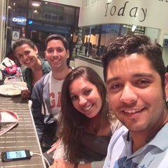 Photo taken at Gelato Bus Stop by Henrique D. on 5/29/2014