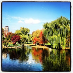 Photo taken at Boston Public Garden by Kevin B. on 10/27/2012