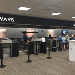 Photo taken at US Airways Ticket Counter by Michael R. on 9/9/2015